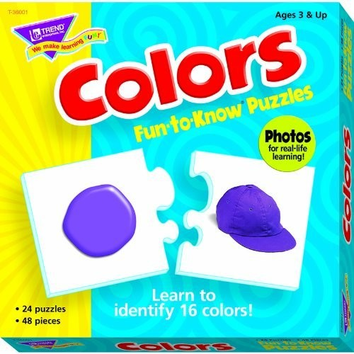 Fun-to-Know Puzzles: Colors [1]