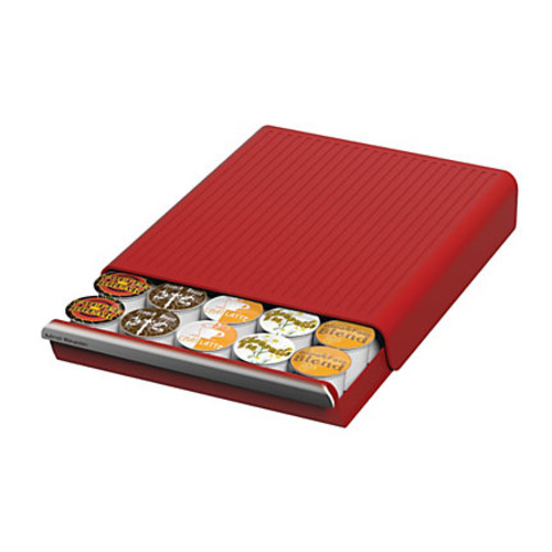 Mini Reader Coupe Coffee 30 Pod Drawer, Red