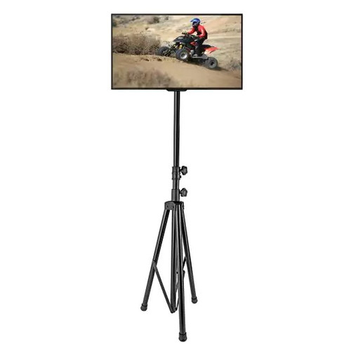 Portable Tripod TV Stand - Television LCD Flat Panel Monitor Mount (For TVs up to 60'')