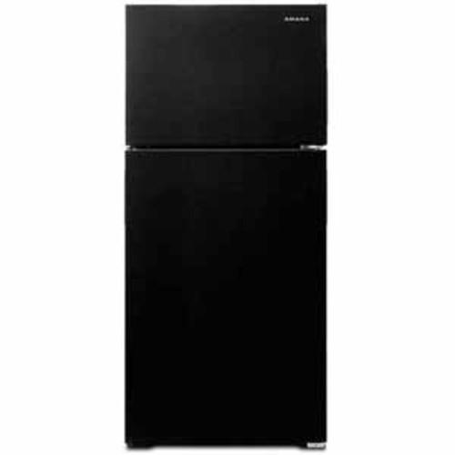 Amana 14.3 cu ft 28 Wide Top-Freezer Refrigerator with Dairy Center - Black