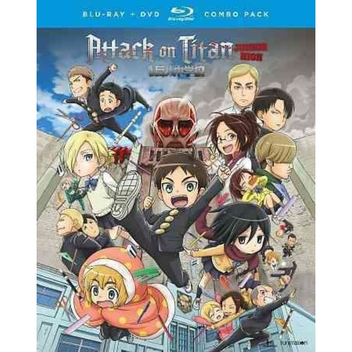 Attack On Titan: Junior High - The Complete Series [Blu-Ray] [DVD]