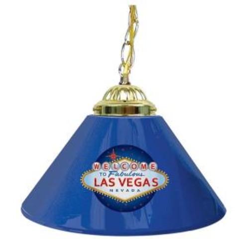 Trademark Las Vegas 14 in. Single Shade Hanging Lamp