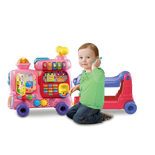 VTech Sit-To-Stand Ultimate Alphabet Train - Pink