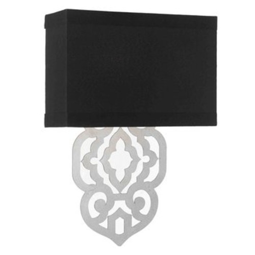 Candice Olson 1 Light Wall Sconce - Finish: Silver