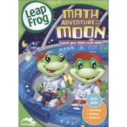 Leapfrog: Math Adventure To The Moon (DVD)