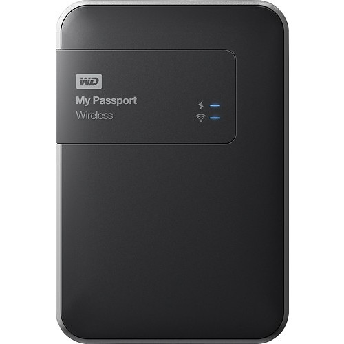 2TB My Passport Wireless Pro USB 3.0 External Hard Drive