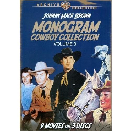 Monogram Cowboy Collection, Vol. 3: Johnny Mack Brown [3 Discs] [DVD]
