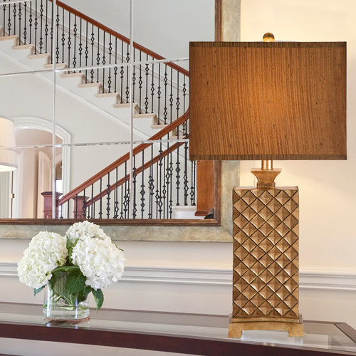 Catalina Lattice Table Lamp