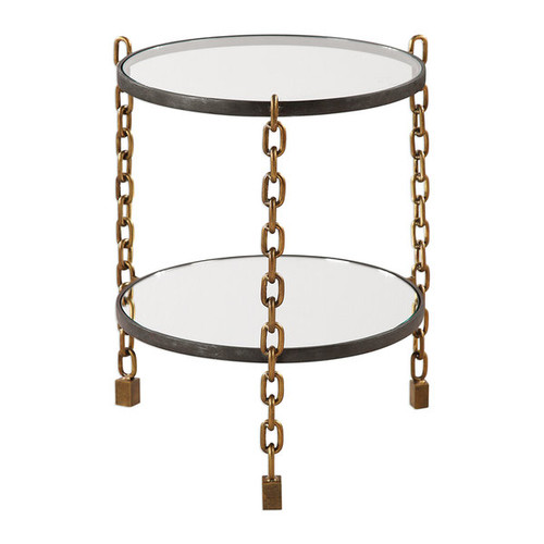 Uttermost Coffee, Console, Sofa & End Tables Uttermost Alonna Chain Accent Table