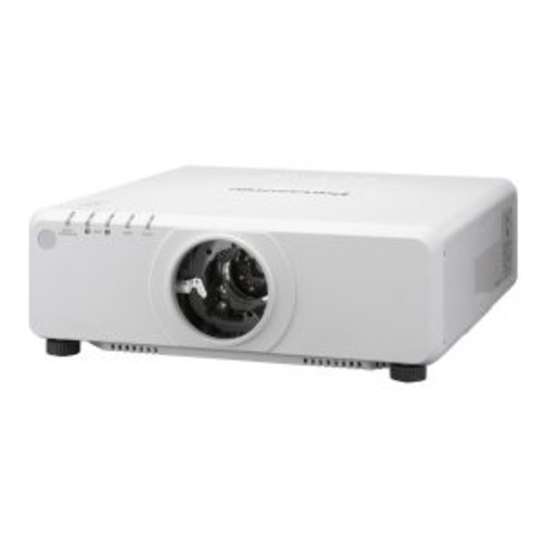 Panasonic PT DZ780LWU - DLP projector - 7000 lumens - WUXGA (1920 x 1200) - 16:10 - HD 1080p - no lens - LAN (PT-DZ780LWU)