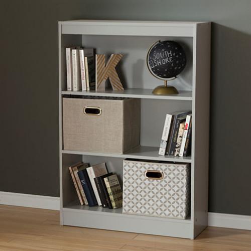 Axess 3-Shelf Bookcase