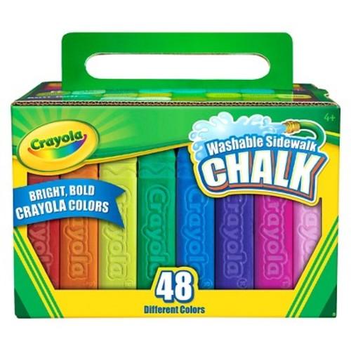 Crayola Outdoor Sidewalk Chalk - 48ct
