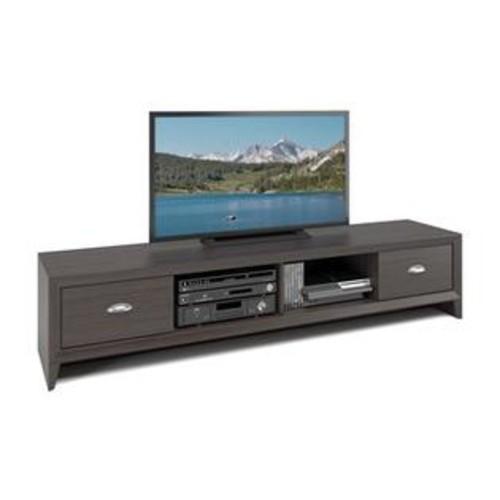 Sonax CorLiving TLK-872-B Lakewood Extra Wide TV Bench (TLK872B), Wenge