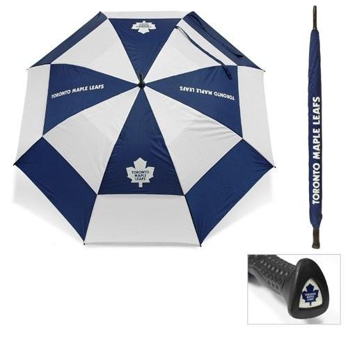Team Golf Toronto Maple Leafs 62 Double Canopy Umbrella