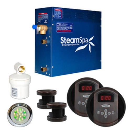 SteamSpa Royal 10.5kw Steam Generator Package in Oil Rubbed Bronze