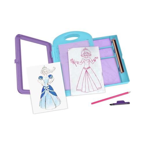 Melissa and Doug Girls' Princess Design Activity Kit