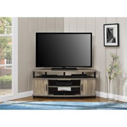 Ameriwood Home Carson 50-inch Sonoma Oak Corner TV Stand
