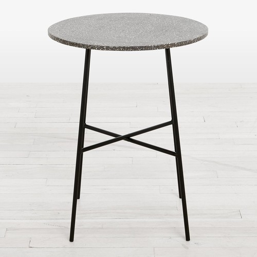 Gesso Side Table Anthracite
