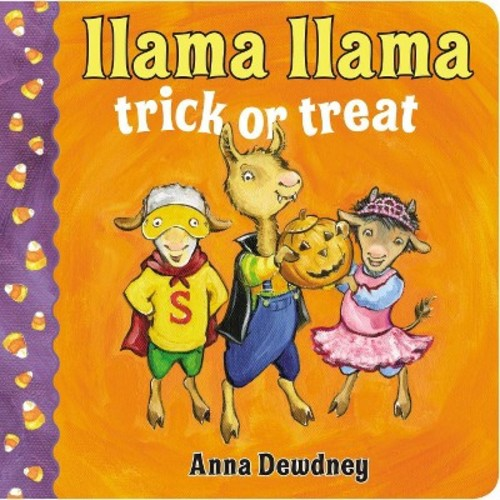 Llama Llama Trick or Treat (Board)