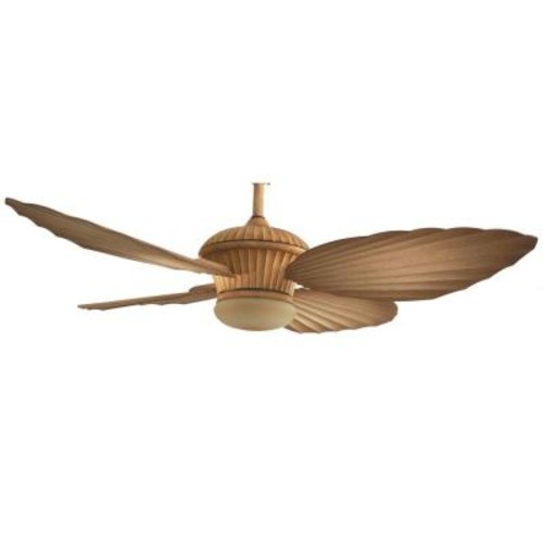 Home Decorators Collection Tropicasa 54 in. Bahama Beige Indoor/Outdoor Ceiling Fan with Light Kit and Remote Control