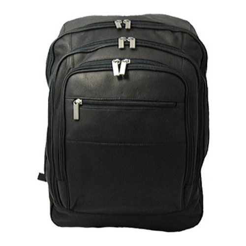 David King Leather 350 Oversized Laptop Backpack
