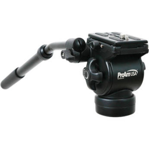 Professional Fluid Tripod Head (Flat Base)