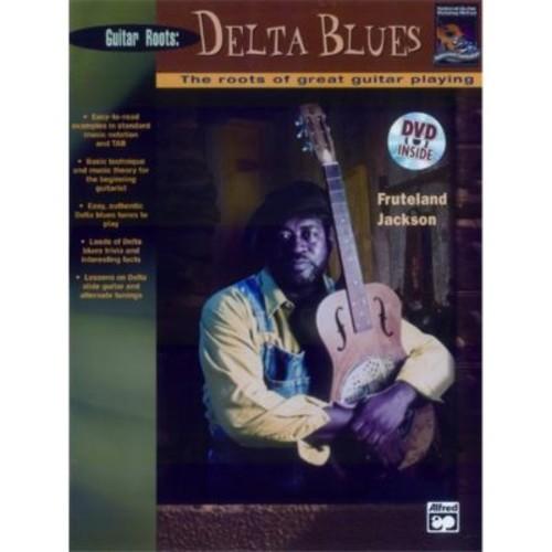 Alfred Beginning Delta Blues Guitar - Music Book(ALFRD36030)