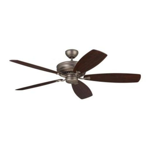 Monte Carlo Bonneville Max 60 in. Brushed Pewter Ceiling Fan