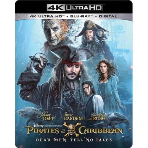 Pirates Of The Caribbean: Dead Men Tell No Tales (4K/UHD + Blu-ray + Digital)