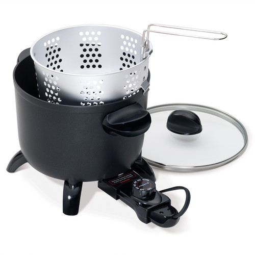 Presto 06006 Kitchen Kettle Multi-Cooker/Steamer [Black, 10.2 x 8.3 x 10.4 inches]