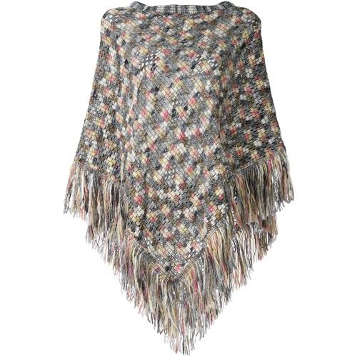 MISSONI Textured Knit Poncho