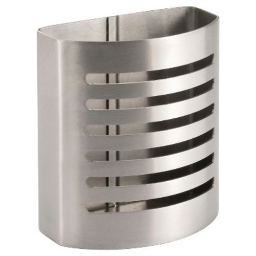 interDesign Forma Magnetic Pencil Cup in Brushed Stainless Steel