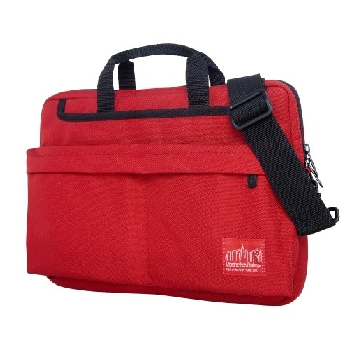 Manhattan Portage Convertible Deluxe Laptop Bag [Red, 13-Inch]