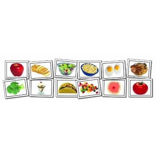 Carson Dellosa Key Education Nouns: Food Learning Cards (845004)