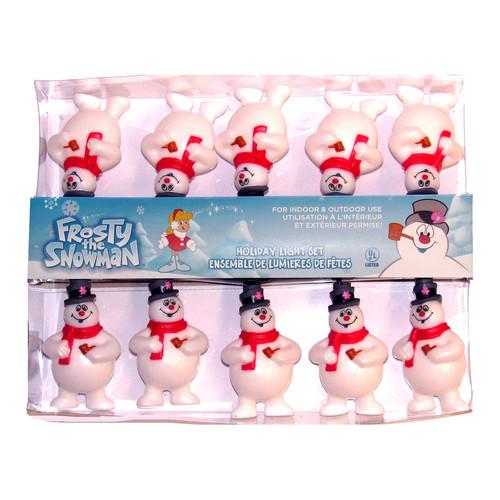 Frosty The Snowman Christmas String Lights by Kurt Adler