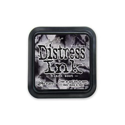 Ranger Tim Holtz Distress Ink black soot pad [Pack of 3]