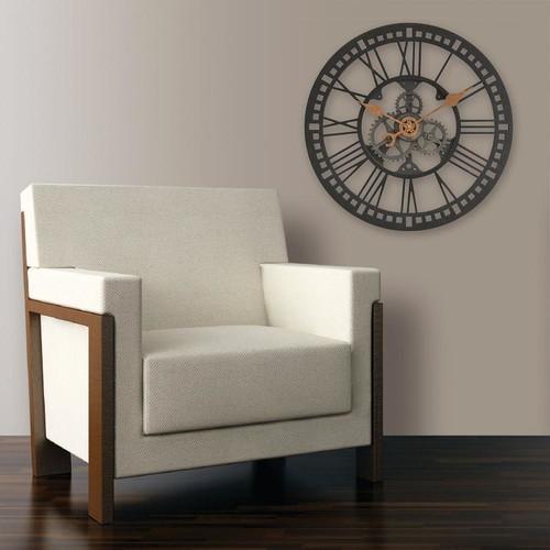 FirsTime Roman Gear Wall Clock