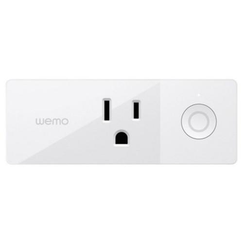 Wemo Mini Smart Plug, Wi-Fi Enabled, Works with Amazon Alexa and Google Assistant [Mini Smart Plug]