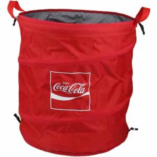 Coca Cola Collapsible Trash Can Cooler - Red