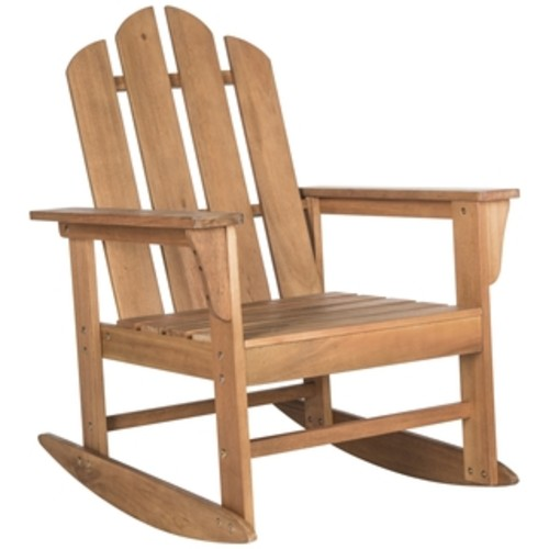Safavieh Outdoor Living Barstow Teak Rocking Chair