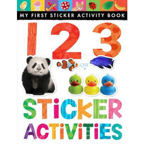 My First Sticker Activity Book: 1 2 3 Sticker Activities