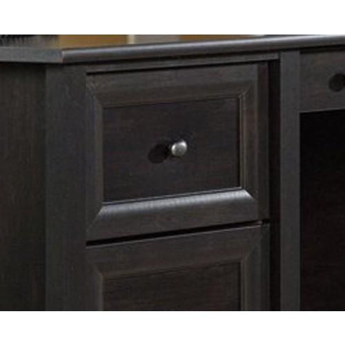 Sauder Edge Water Executive Desk, Estate Black Finish [Estate Black Finish]