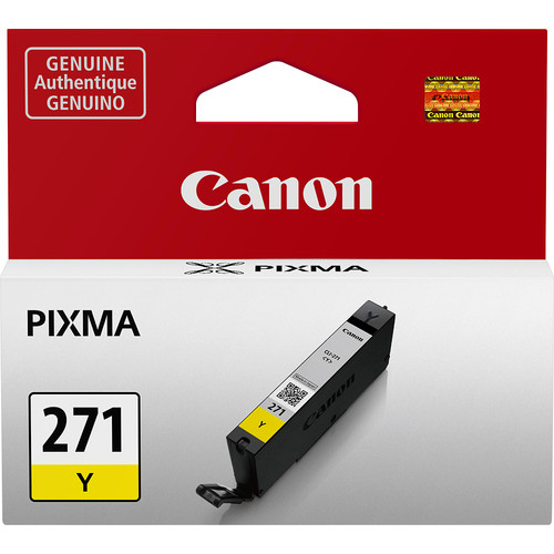 Canon - CLI-271 Ink Cartridge - Yellow