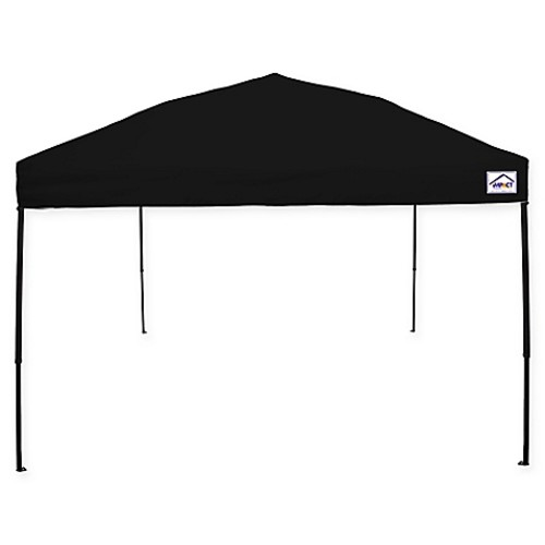 Impact Canopy 10-Foot x 10-Foot Ez Up Instant Canopy in Black