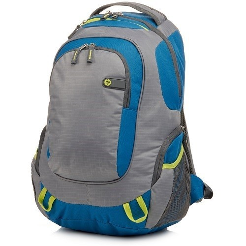 HP Inc. Outdoor Sport Green/Blue Backpack (F4F29AA#ABL)