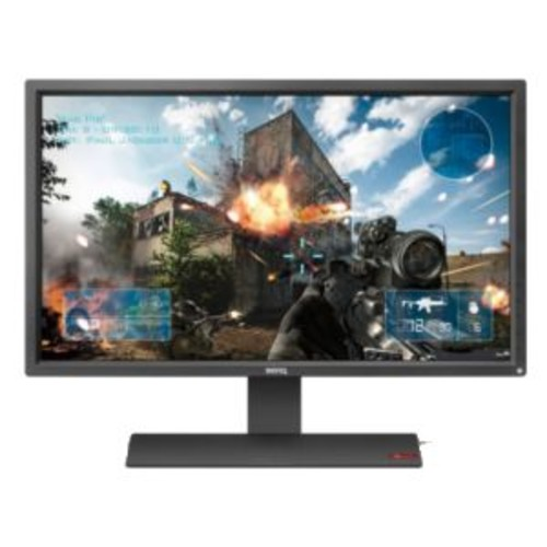 BenQ ZOWIE 27 Console e-Sports Monitor  FHD 1920 x 1080, 1ms Response Time, 12000000:1 contrast Ratio, 300 Nit Brightness, LED Backlight Display, VGA, DVI, 2x HDMI Ports, Speakers  RL2755