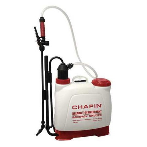 Chapin 61575 4-Gallon Euro Style Backpack Bleach and Disinfectant Poly Sprayer Great For Mold Remediation and General Cleaning Applications, 4-Gallon (1 Sprayer/Package) : Lawn And Garden Sprayers : Garden & Outdoor