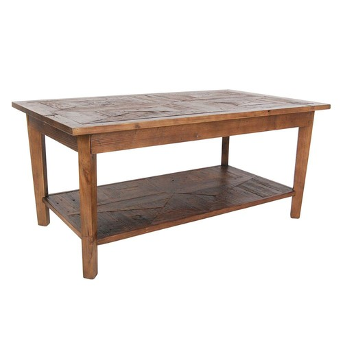 Alaterre Revive Reclaimed Coffee Table, Natural