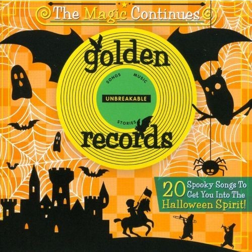 Golden Records: Spooky Halloween Hits [CD]