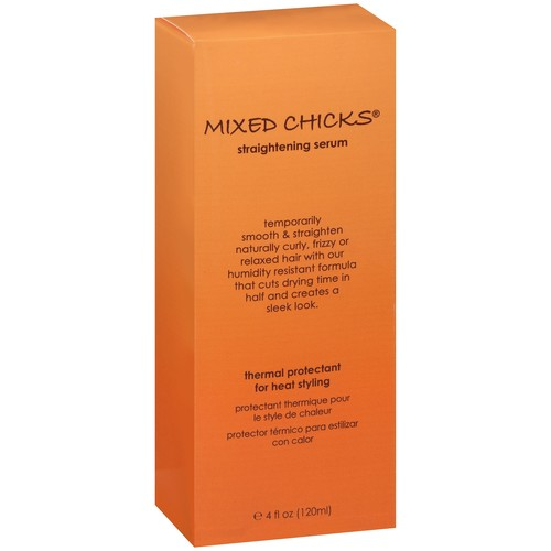 Mixed Chicks? Thermal Protectant for Heat Styling Straightening Serum 4 fl. oz. Box
